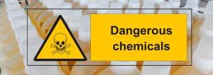 productos químicos en la limpieza del coche