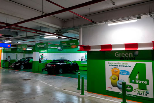 Franquicia Parking Green Wash