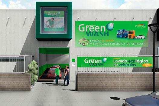 Centro de lavado de coches locales
