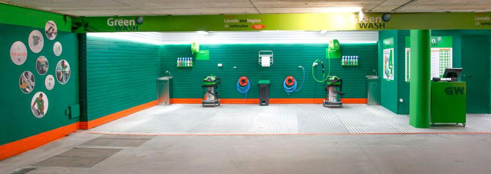 El sistema de lavado ecológico patentado por Green Wash